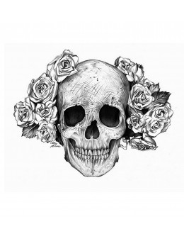 Skull and Roses - Tatuaj...