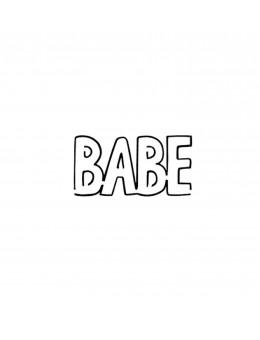 BABE - Tatuaj Temporar -...