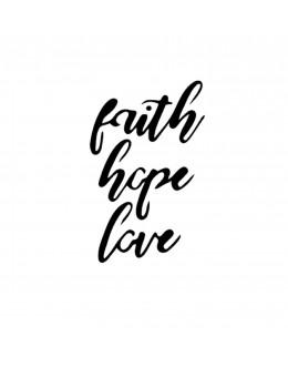 FAITH, HOPE, LOVE - Tatuaj...