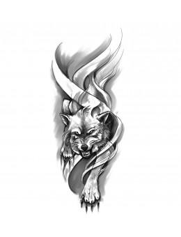 Wolf Sleeve - Tatuaj...