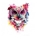 Colorfull owl - Tatuaj...