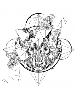 Abstract Wolf - Tatuaj...