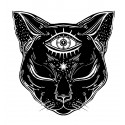 Illuminati Cat - Tatuaj...