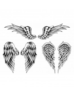 Wings Set - Tatuaj Temporar...
