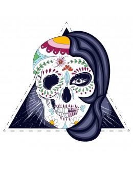 Mystic Woman Skull - Tatuaj...